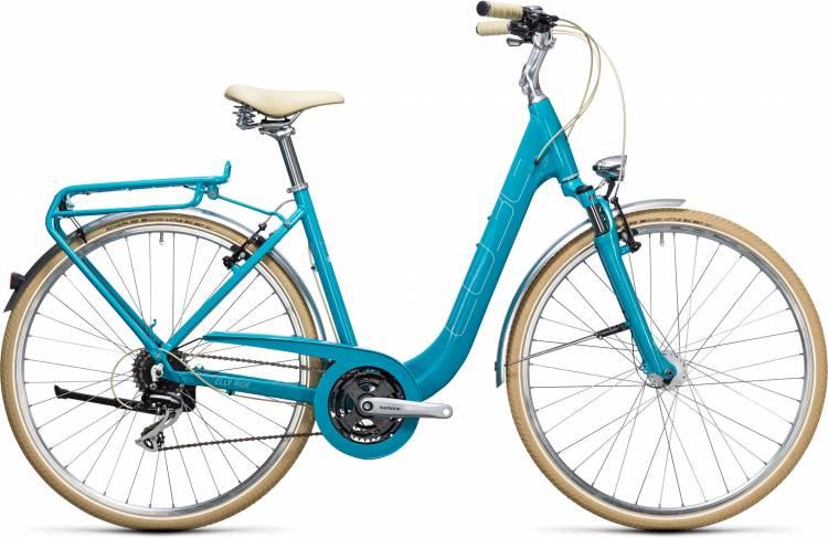 Cube Elly Ride blue n aqua Easy Entry 2017