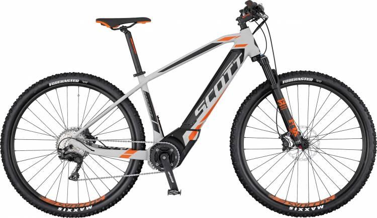 Scott E-Aspect 910 2017 - E-Bike Hardtail Mountainbike - Lackschaden
