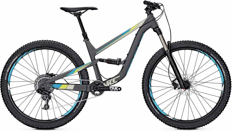 Focus Vice Pro 27 nimbus grey/matt 2017 - Fully Mountainbike