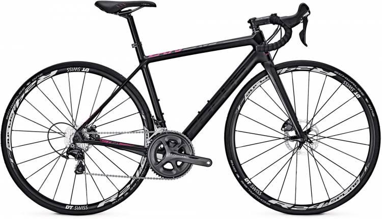 Focus Cayo Disc Donna Ultegra carbon/pink/black 2017 - Damen Carbon Rennrad