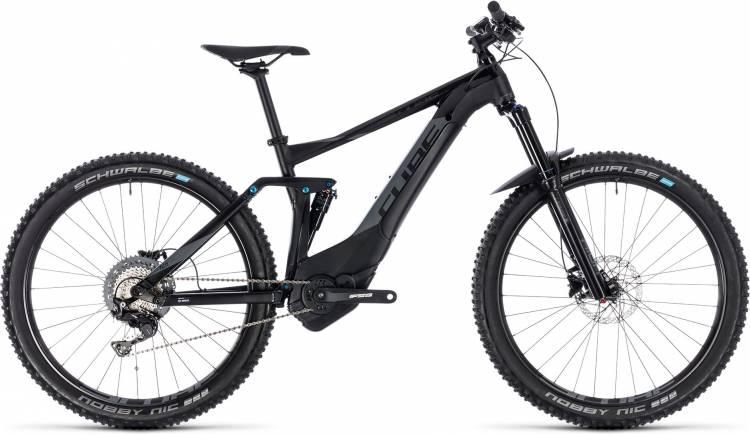 Cube Stereo Hybrid 140 Pro 500 27.5 black n grey 2018 - E-Bike Fully Mountainbike