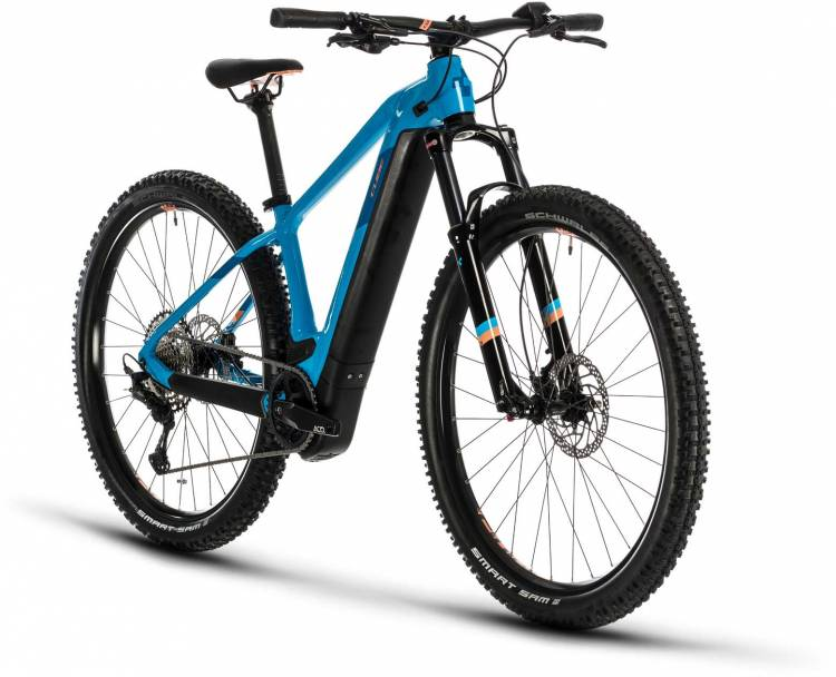 Cube Access Hybrid EXC 625 29 reefblue n apricot 2020 - E-Bike Hardtail Mountainbike