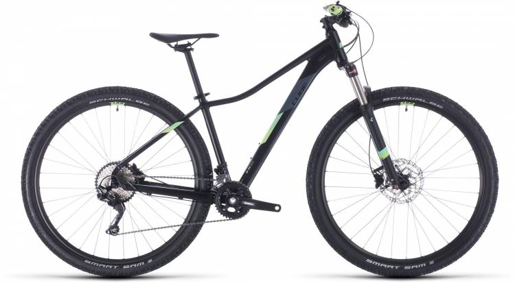 Cube Access WS Race black n green 2020 - Hardtail Mountainbike Damen