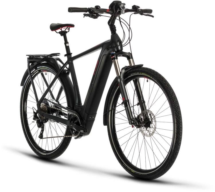 Cube Kathmandu Hybrid EXC 625 iridium n red 2020 - E-Bike Trekkingrad Herren