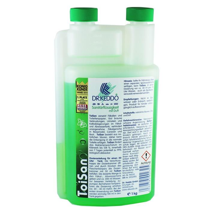 Dr. Keddo Sanitärflüssigkeit - Toisan 1000 ml