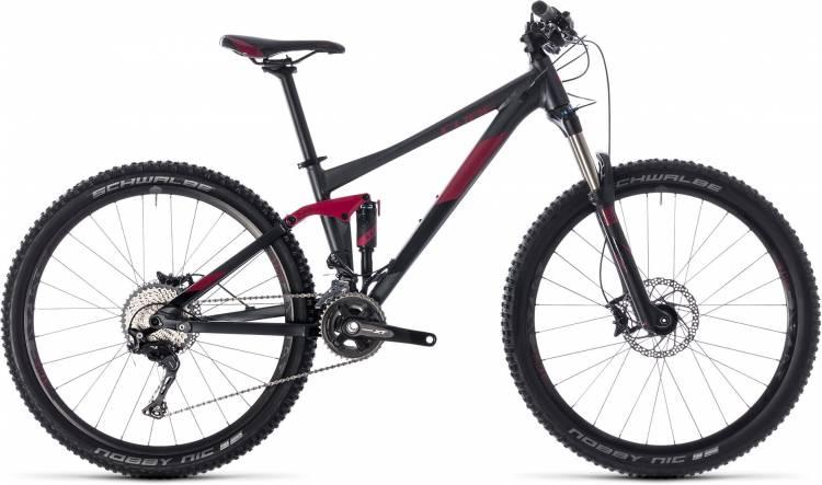 Cube Sting WS 120 PRO iridium n berry 2018 - Damen Fully Mountainbike
