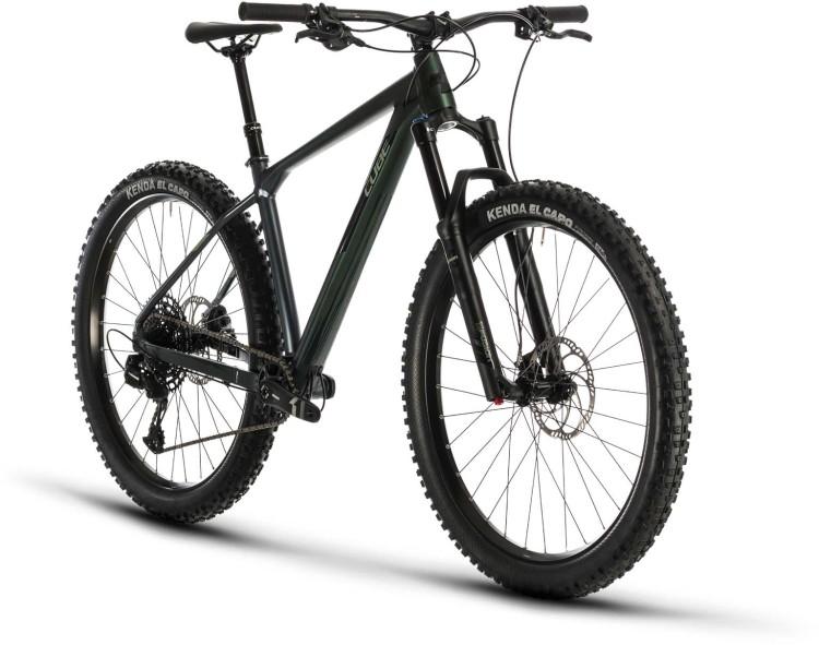 Cube Reaction TM green n black 2020 - Hardtail Mountainbike