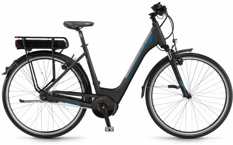 """Winora Y170.F 400Wh 28"""" FL schwarz matt 2017 - Herren E-Bike Trekkingrad"""