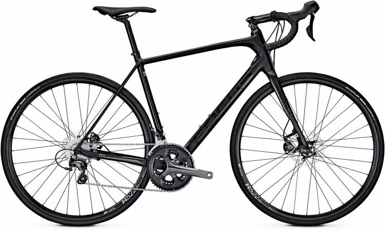Focus Paralane Al Tiagra magic black 2017 - Herren Aluminium Rennrad