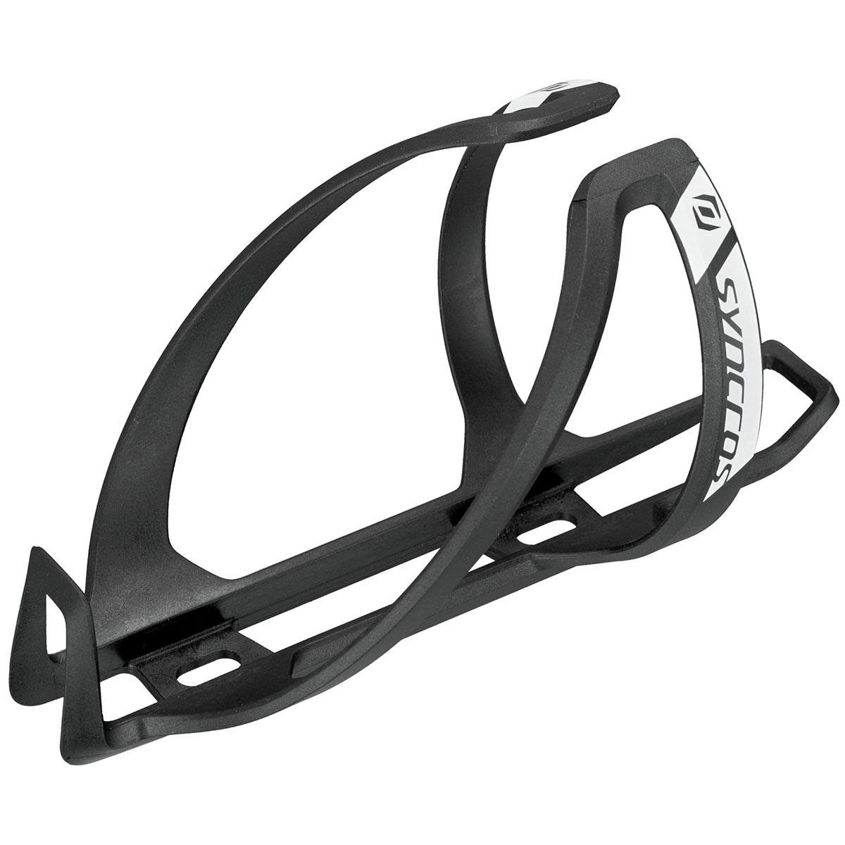 Right Side Entry Matte Black Syncros Tailor 2.0 Water Bottle Cage