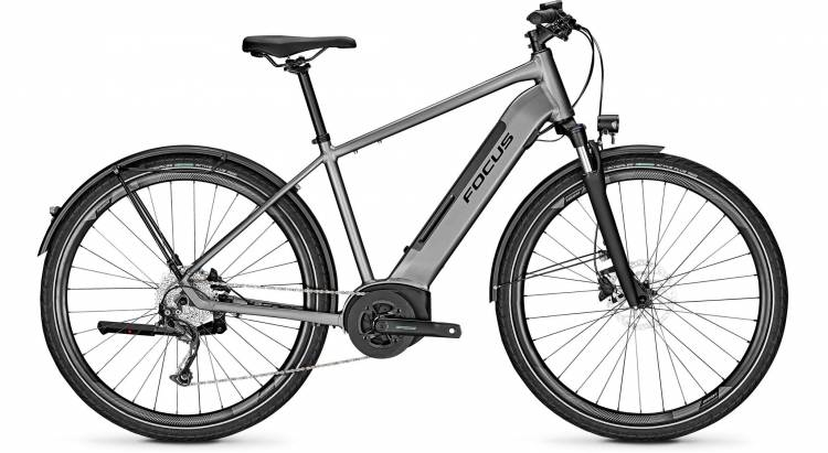 Focus Planet2 5.9 Toronto Grey 2020 - E-Bike Trekkingrad Herren