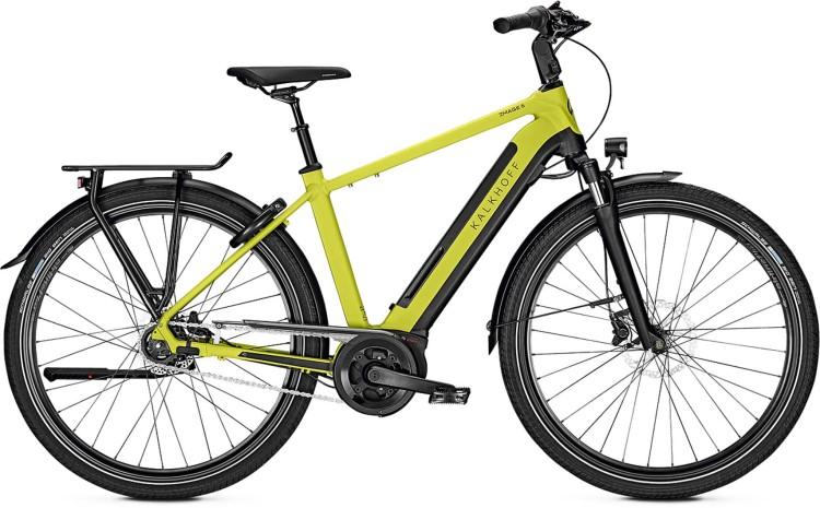 Kalkhoff Image 5.B XXL wasabigreen/magicblack matt (Diamond) 2020 - E-Bike Trekkingrad Herren