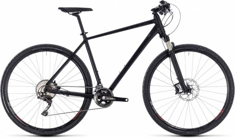 Cube Cross SL black edition 2018 - Herren Crossrad