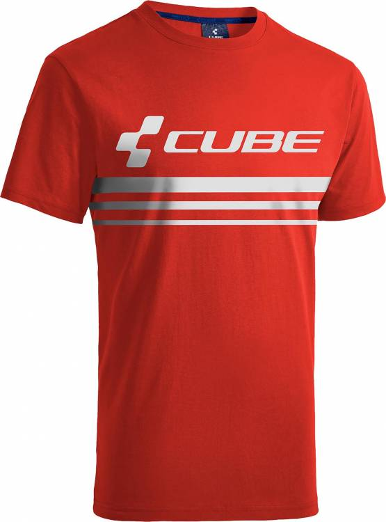 Cube T-Shirt Race Pilot red´n´white