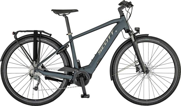 Scott Sub Tour eRIDE 20 Men petrol blue / gloss metal beige / black 2021 - E-Bike Trekkingrad Herren