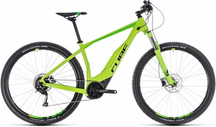 Cube Acid Hybrid ONE 500 29 green n black 2018 - E-Bike Hardtail Mountainbike