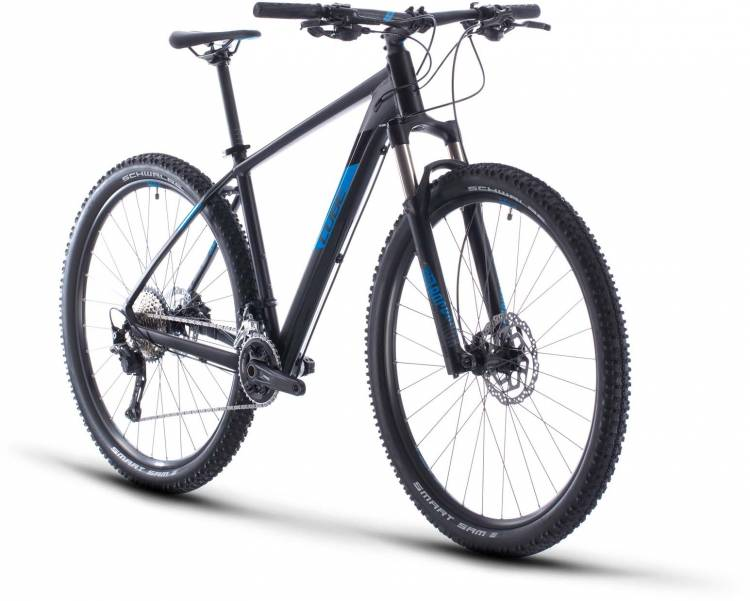 Cube Attention SL black n blue 2020 - Hardtail Mountainbike