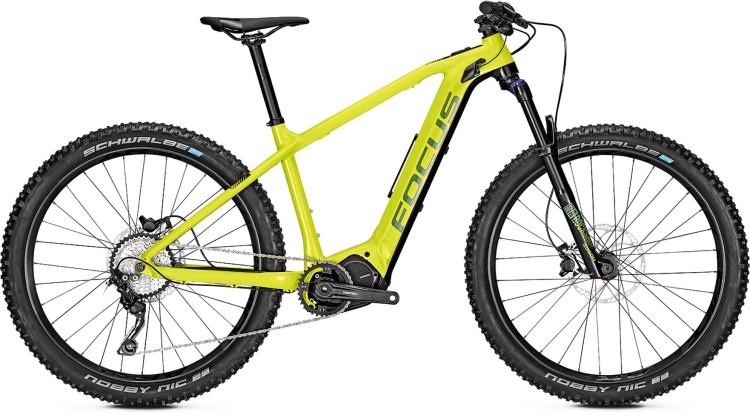 focus jam2 ht 6 8 plus lime 2019 e bike mountainbike. Black Bedroom Furniture Sets. Home Design Ideas