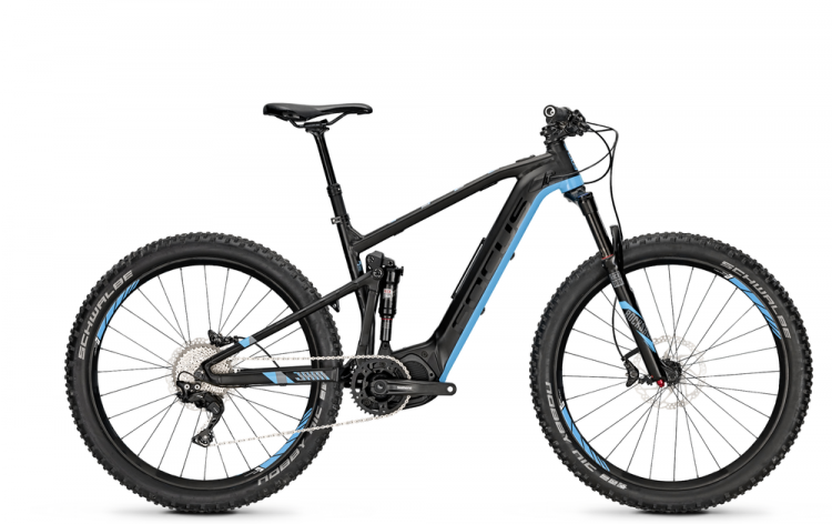 Focus Jam2 27 Plus black/blue 2017 - E-Bike Fully Mountainbike