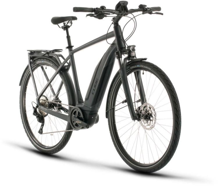 Cube Touring Hybrid Pro 500 iridium n black 2020 - E-Bike Trekkingrad Herren