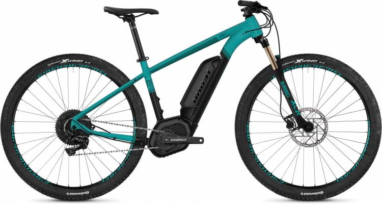 Ghost Hybride Teru B4.9 AL U electricblue / jetblack / shadowblue 2020