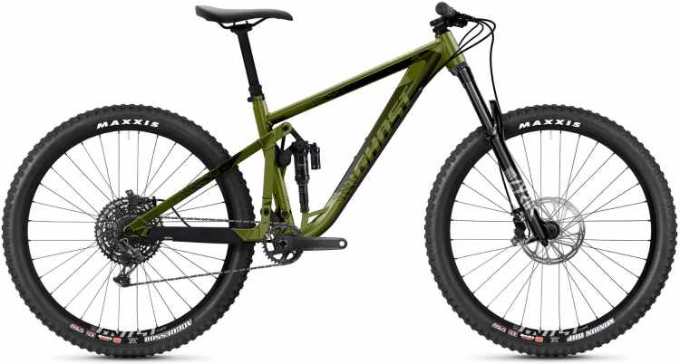 Ghost Riot AM AL Universal green / gray 2021 - Fully Mountainbike