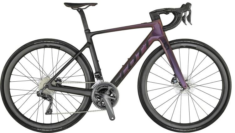 Scott Contessa Addict eRIDE 10 prism nitro purple gloss 2021 - E-Bike Rennrad