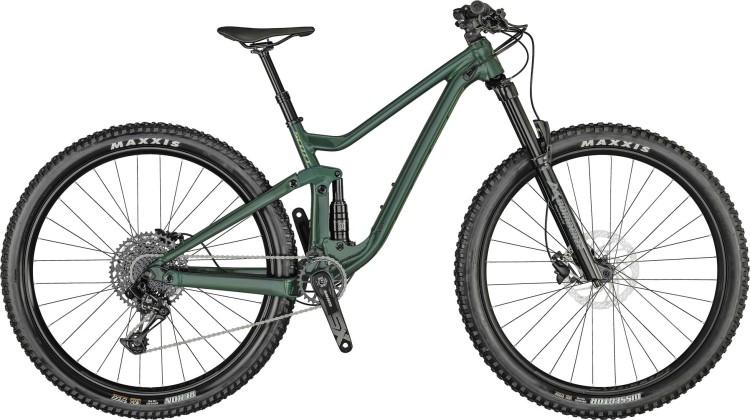 Scott Contessa Genius 920 deep teal green / mojolica green 2021 - Fully Mountainbike Damen