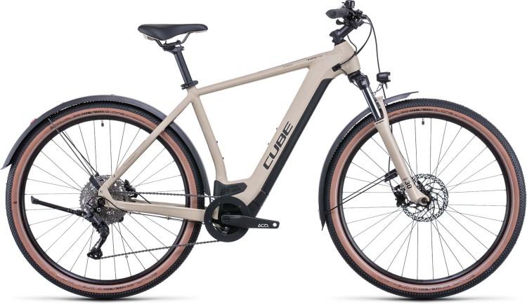 Cube Nuride Hybrid Pro 625 Allroad desert n black 2022 - E-Bike Hardtail Mountainbike