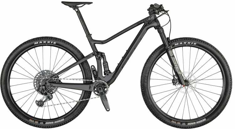 Scott Spark RC 900 TeamIssue AXS raw carbon / brushed metall 2021 - Fully Mountainbike