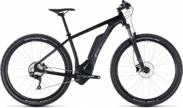Cube Reaction Hybrid Pro 400 black n grey 2018 - E-Bike Hardtail Mountainbike