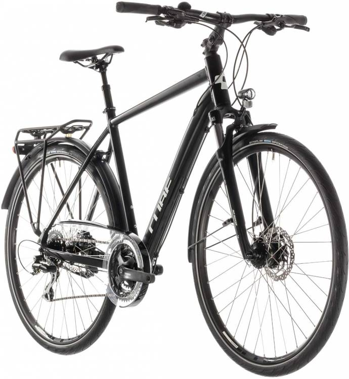 Cube Touring ONE black n grey - Herren 2019