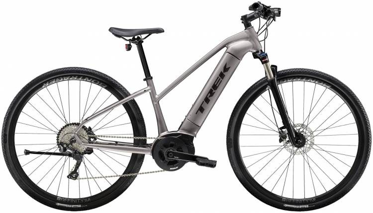 Trek Dual Sport+ Women's Metallic Gunmetal 2020 - E-Bike Crossrad Damen