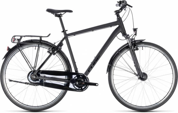 Cube Town Pro Comfort black n black 2018 - Herren Trekkingrad