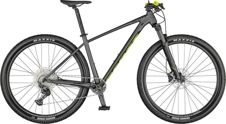 Scott Scale 980 matt dark grey / black / yellow 2021 - Hardtail Mountainbike
