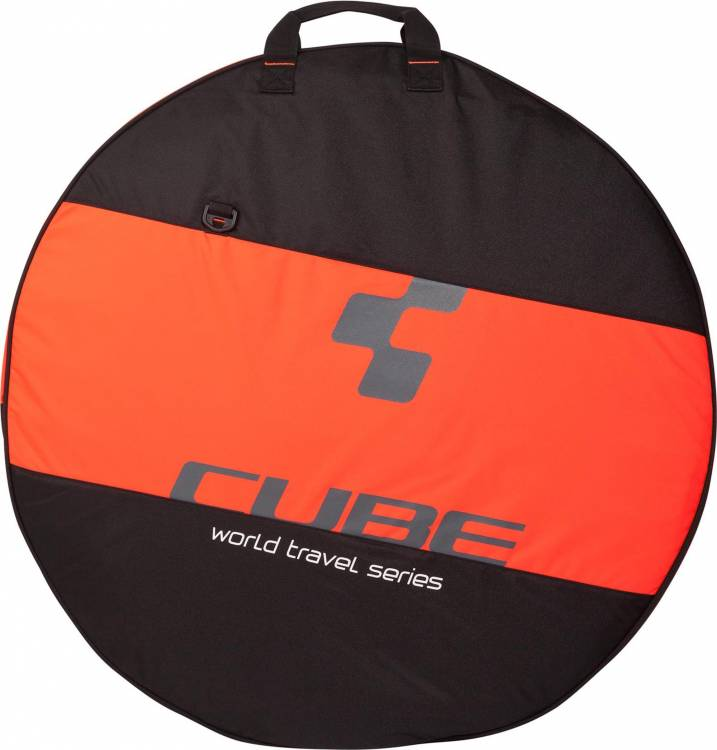 "Cube Laufradtasche 26""- 29"" 1-fach black´n´flashred"