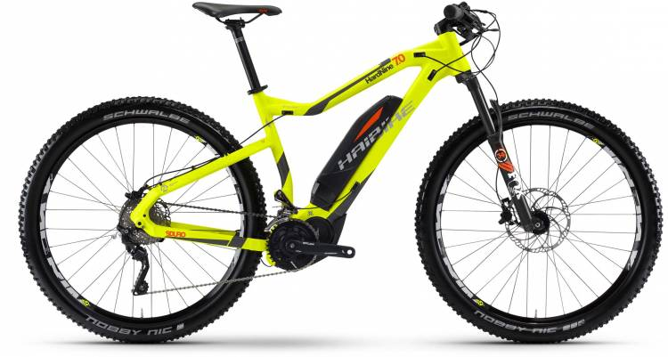 Haibike SDURO HardNine 7.0 500Wh lime/anthr./orange matt 2017
