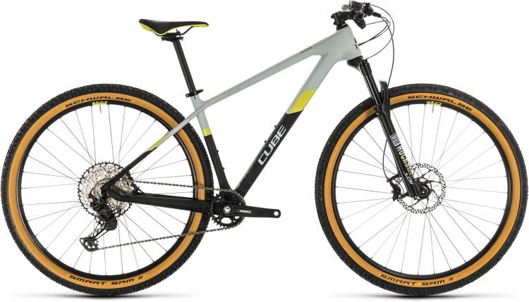 Cube Access WS C:62 Pro lightblue n lime 2020 - Hardtail Mountainbike Damen
