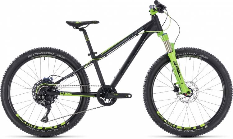 Cube Kid 240 SL black n green 2018 - Kinderrad 24 Zoll