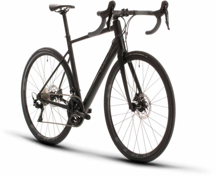 Cube Attain SL black n grey 2020 - Aluminium Rennrad Herren