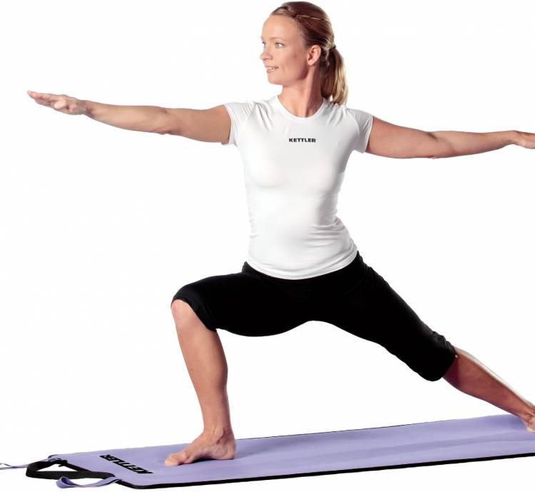 Kettler Yoga Matte violett