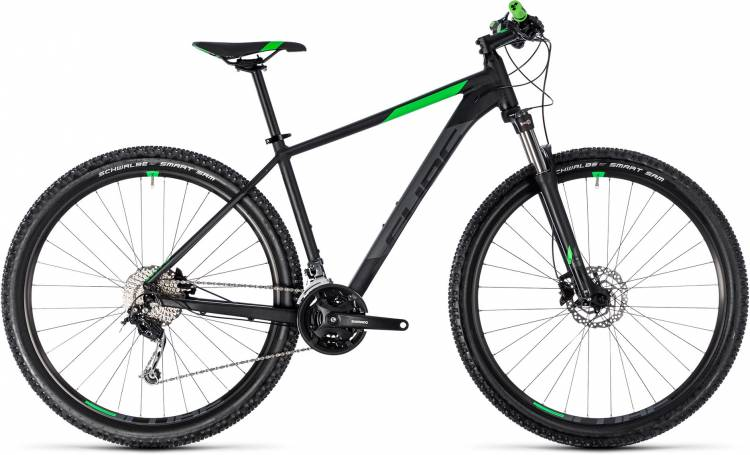 Cube Aim SL black n flashgreen 2018 - Hardtail Mountainbike