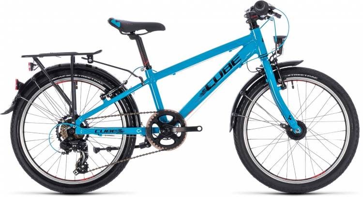 Cube Kid 200 Street boy blue n black 2018 - Kinderrad 20 Zoll