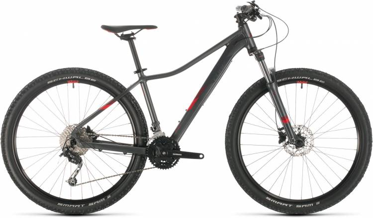 Cube Access WS Pro iridium n deepred 2020 - Hardtail Mountainbike Damen