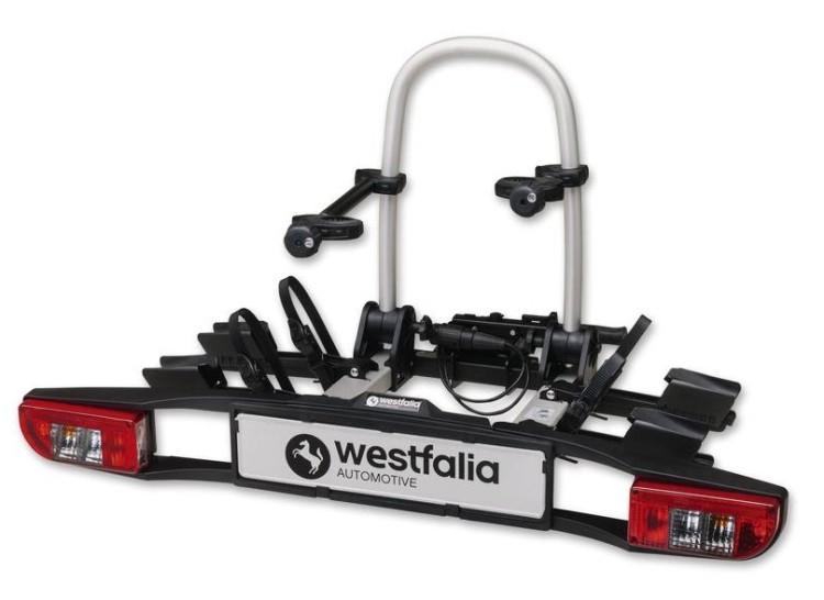 Westfalia Fahrradträger bikelander classic - 2er-Fahrradträger für die Anhängerkupplung