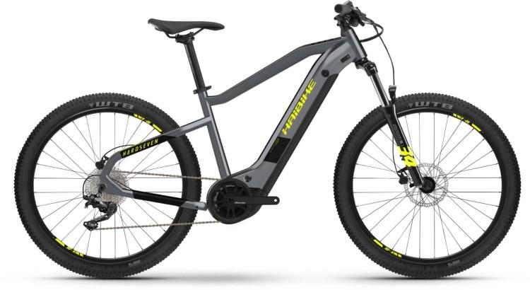 Haibike HardSeven 6 i630Wh cool grey/black 2021 - E-Bike Hardtail Mountainbike