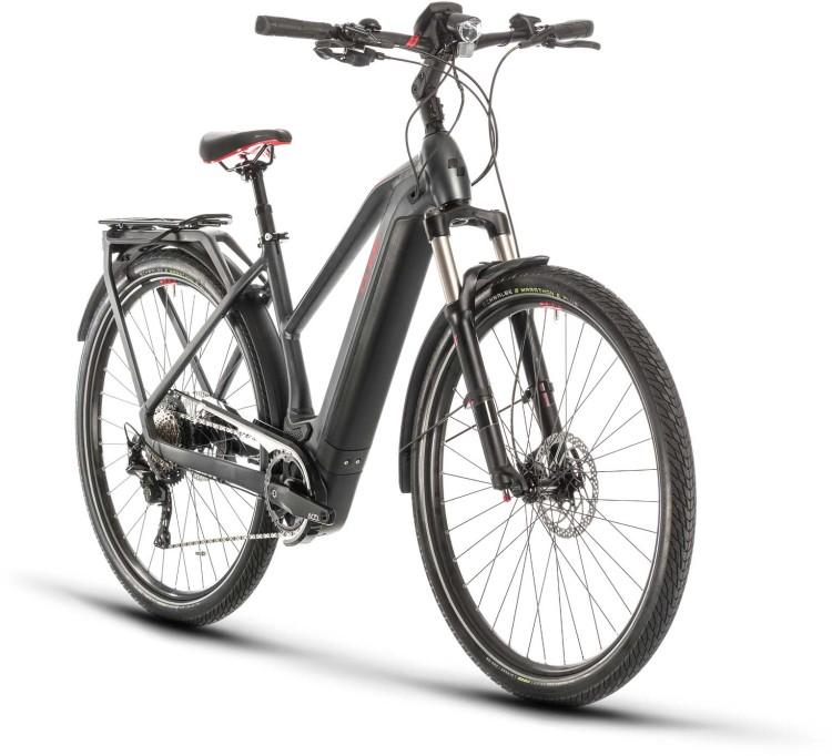 Cube Kathmandu Hybrid EXC 625 iridium n red 2020 - E-Bike Trekkingrad Damen