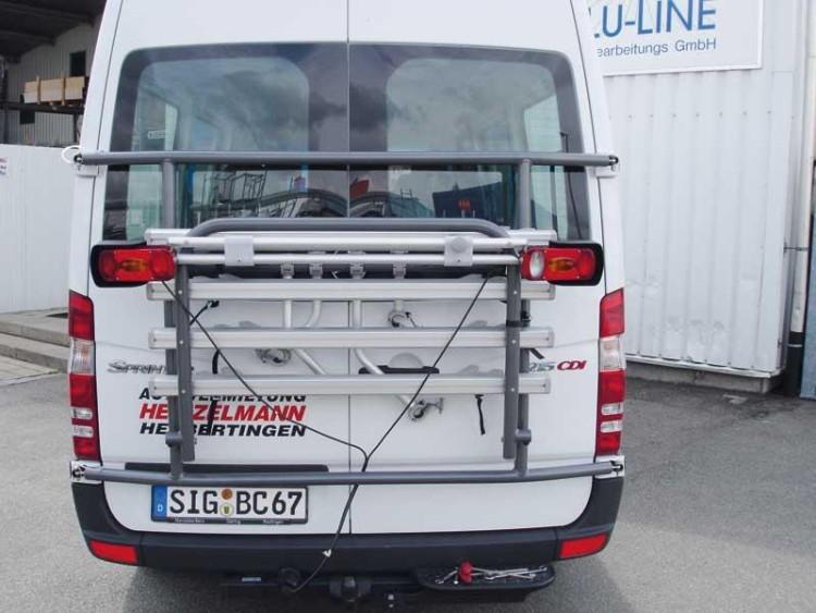 EuroCarry Heckträger Hoch- /Tieflader für 2 Fahrräder