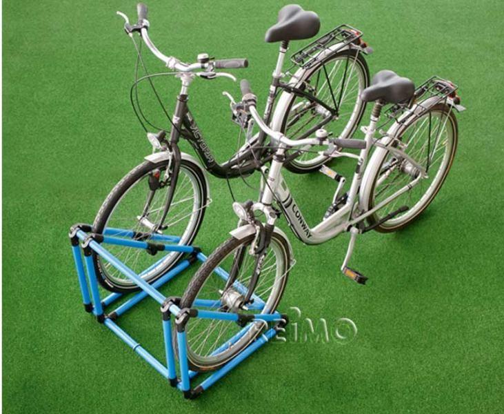 Froli Mobiler Fahrradparker klappbar, blau/schwarz