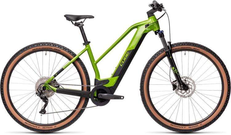 Cube Reaction Hybrid ONE 500 29 deepgreen n black 2021 - E-Bike Hardtail Mountainbike Damen